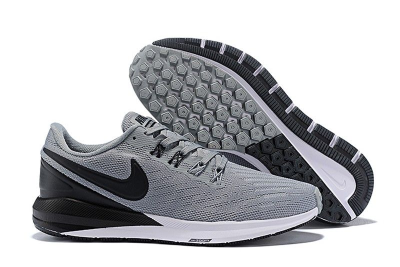 High quality nike air zoom structure 22 mens blackwolf