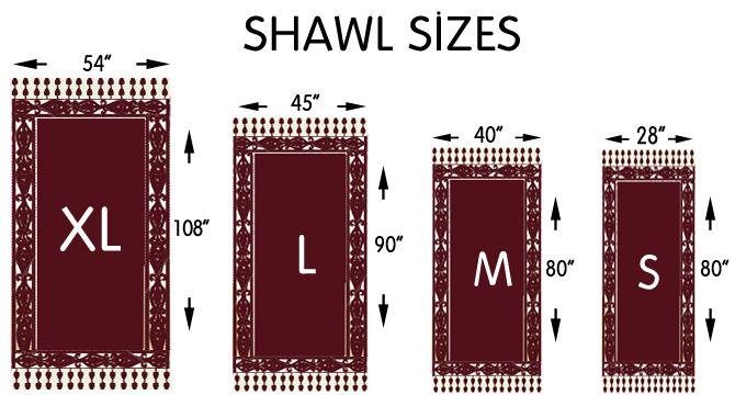 Shawl Size Chart Jpg 670 360 Crochet Basics Crochet Chart Crochet Tutorial