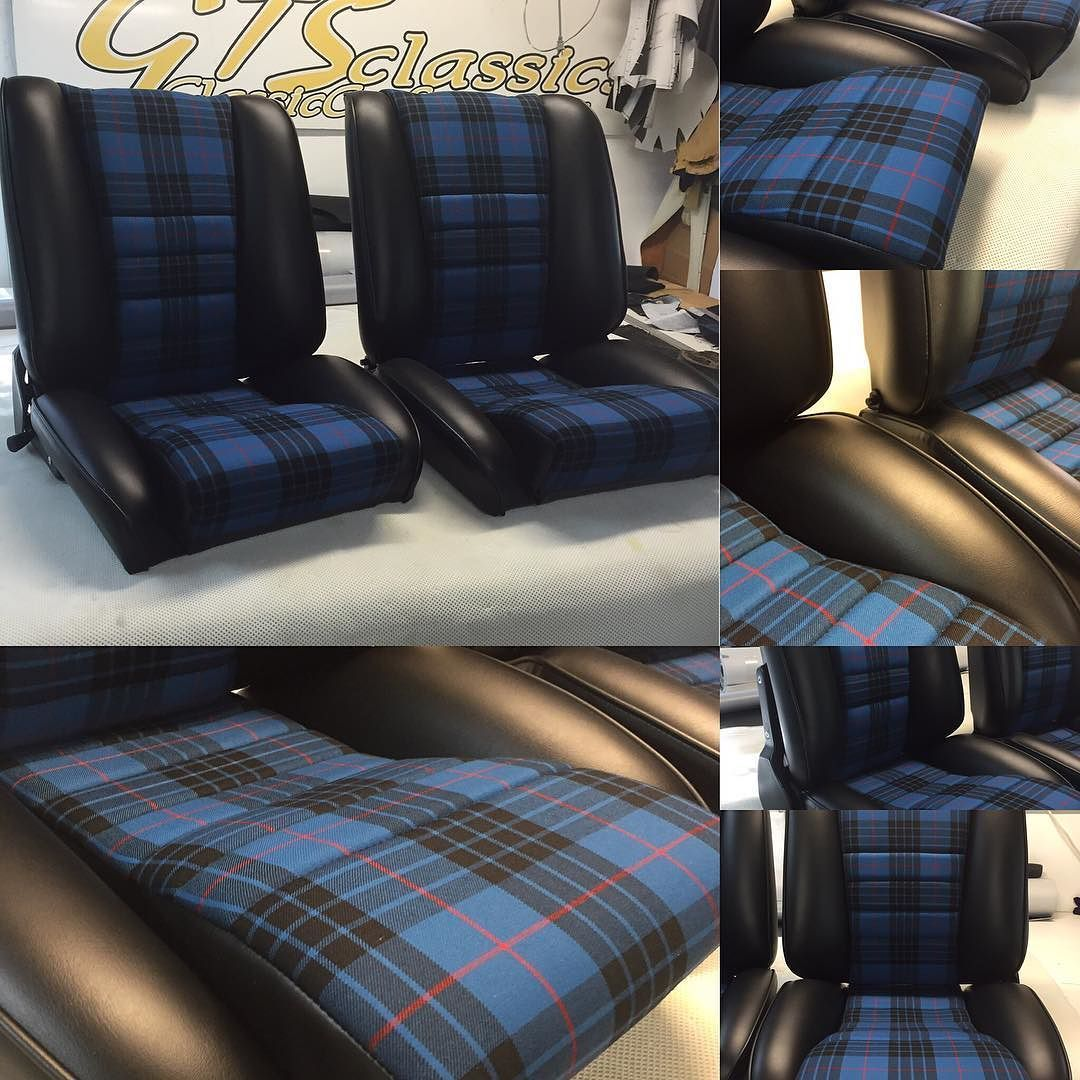 And Some Sport S Seats In Leatherette W Blue Tartan Coming