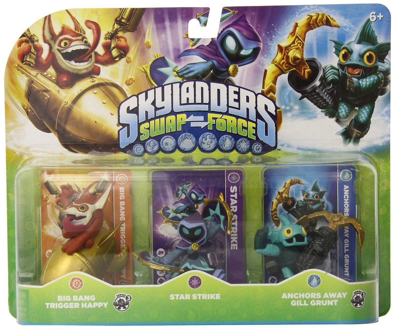 Robot Check Skylanders swap force, Trigger happy, Skylanders