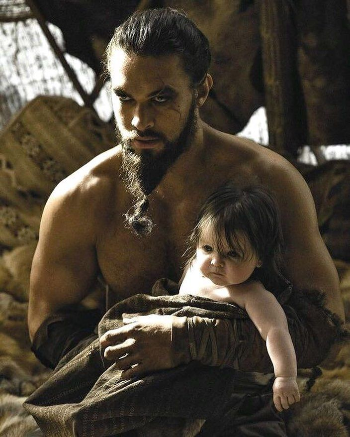 #khaldrogo #jasonmomoa #gameofthrones #hbo