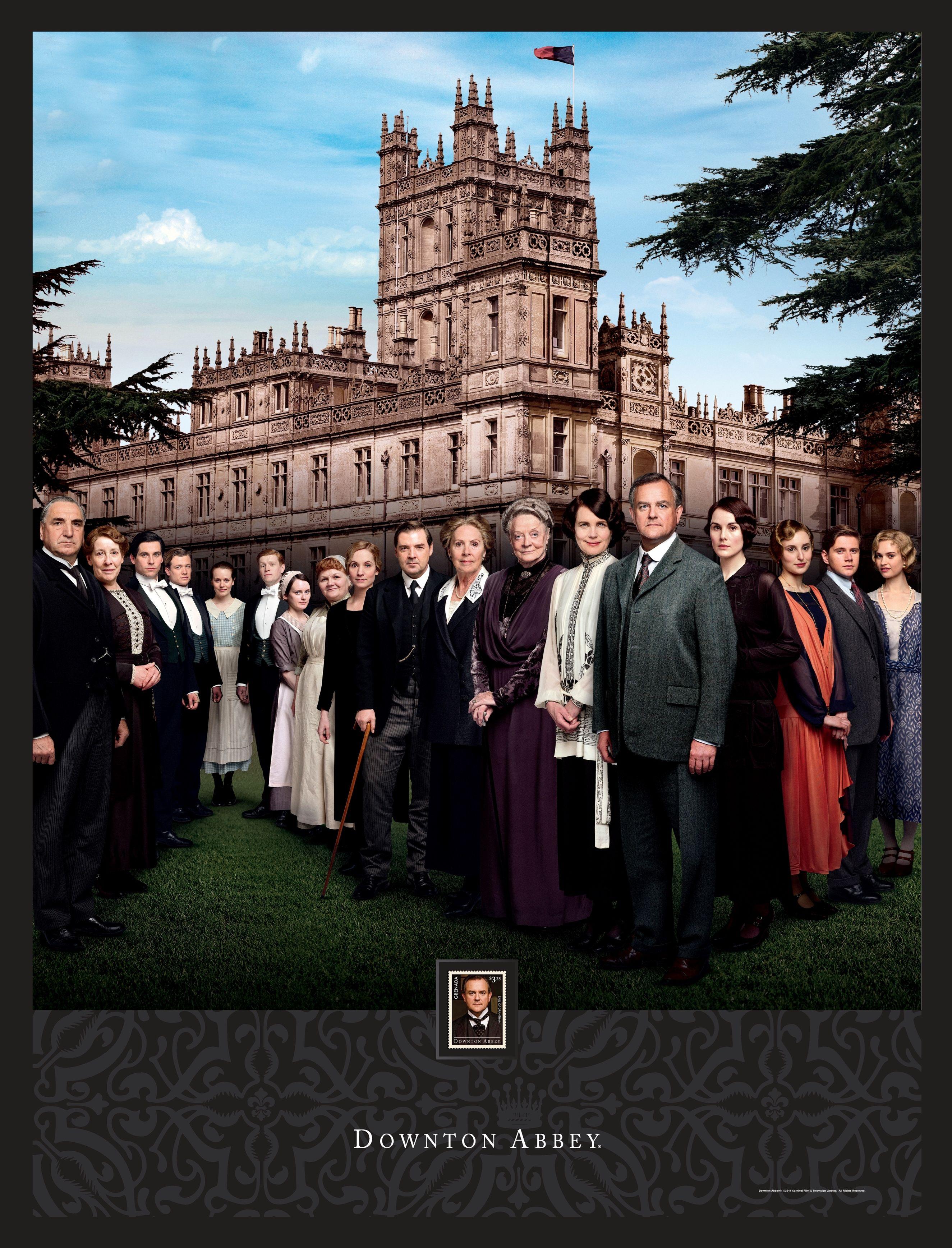 Downton Abbey Season 4 #DowntonAbbey #DTA #Season4 #wallart ...
