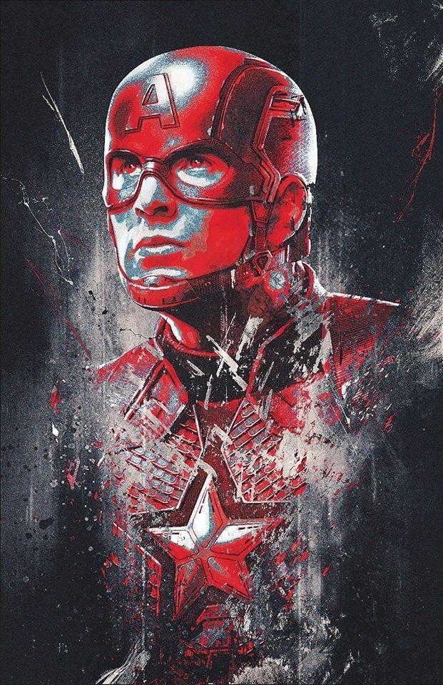 Avengers: Endgame Promo Art Reveals New Looks for Captain Marvel, Ronin, Thanos, and More