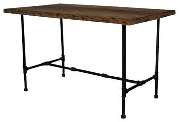 Modern Industry Custom Made Reclaimed Wood Dining Table In Vintage Industrial Urban Decor Style For Rooms Or Kitchens Recycled Kitchen And