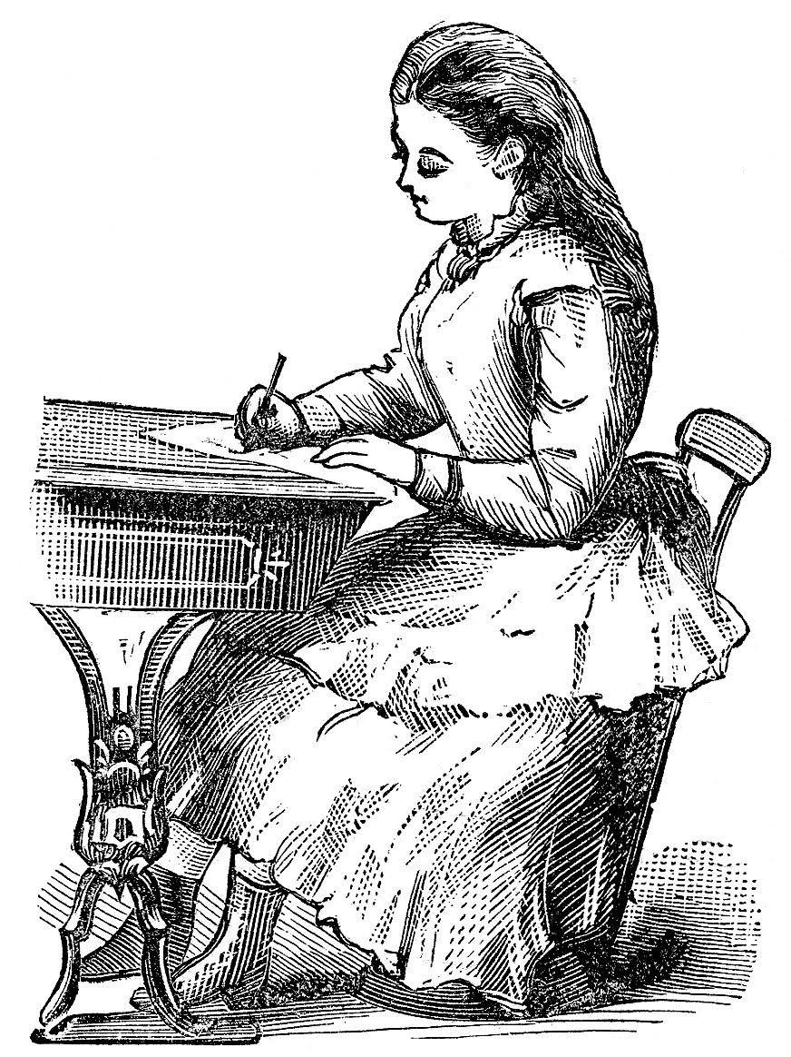 Victorian Clip Art Vintage Back To School Graphics Clip Art Vintage Clip Art Vintage School