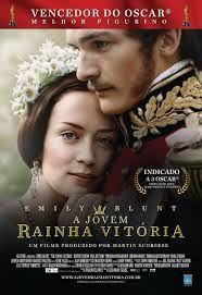 A jovem Rainha Vitoória