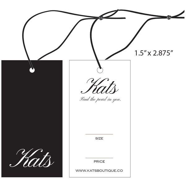 58054fd6711a Custom Apparel, Garment, Clothing Hang Tags | St. Louis Tag | Hang ...