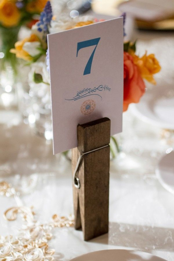 Table Number Weddingbells Wedding Table Number Holders Diy Table Numbers Table Number Holders Diy