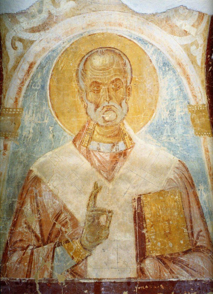 Росписи церкви георгия в старой ладоге