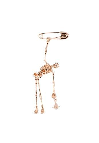 Vivienne Westwood Skeleton Brooch