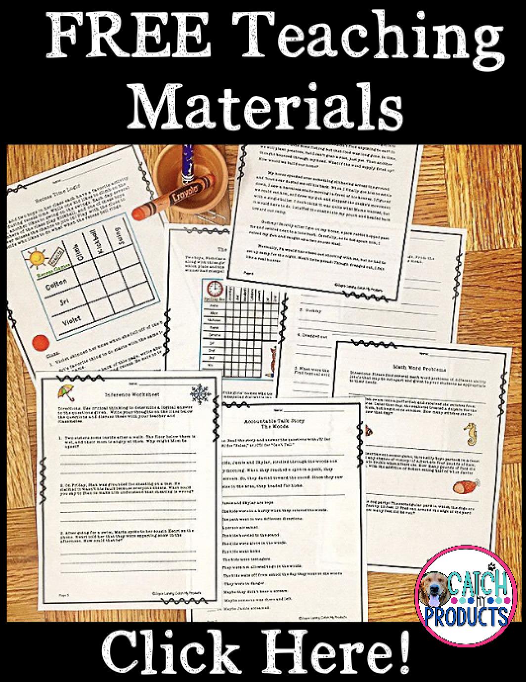Teachers Free Fun Teaching Printables For Kids Learning