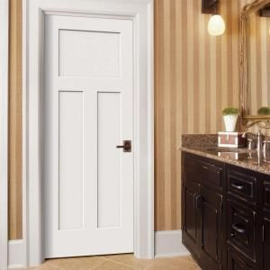 Jeld wen 32 in x 80 in craftsman primed left hand smooth solid jeld wen 32 in x 80 in craftsman primed left hand smooth solid core molded composite mdf single prehung interior door planetlyrics Images