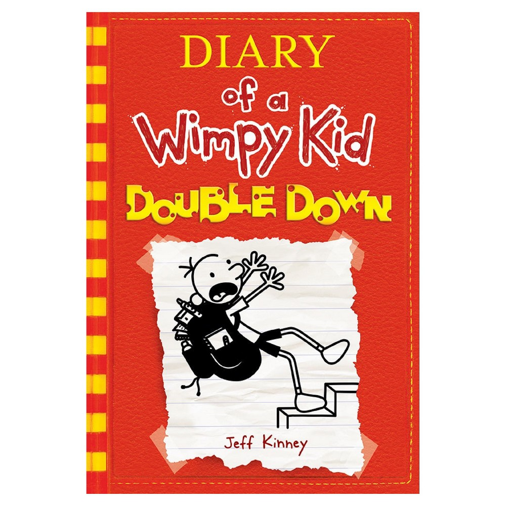 Diary of a wimpy kid double down hardcover by jeff kinney solutioingenieria Choice Image