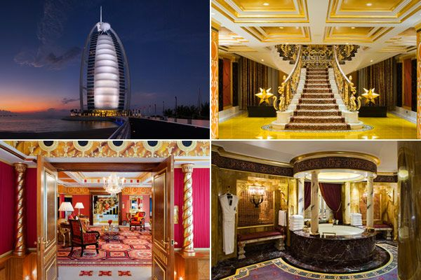 Expensive Hotel Rooms :O Burj Al Arab Hotel, Royal Suite Location: Dubai,