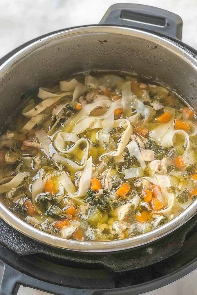 Instant Pot Chicken Noodle Soup Recipe Insta Pot Instant Pot Chicken Noodle Soup Recipe