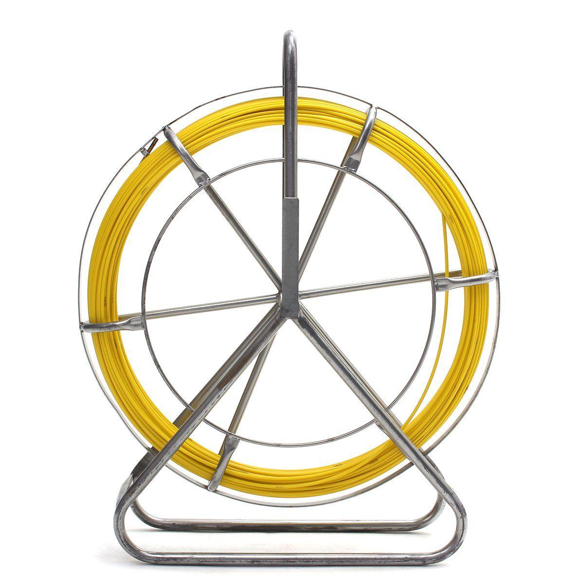 130 mt * 6mm Lauf Stange Kanal Puller Fisch Glasfaserband Elektro ...