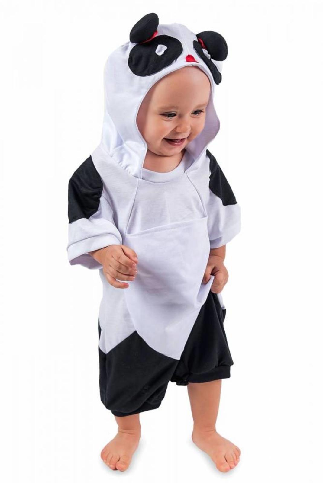 Body Infantil Panda Branco P Roupa Brinquedo Lé Com Cré em 2018 ... 2dcefa98ca2
