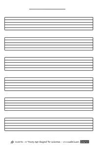 Blank Music Sheets - ScaleViz VIP | Drum Music in 2019