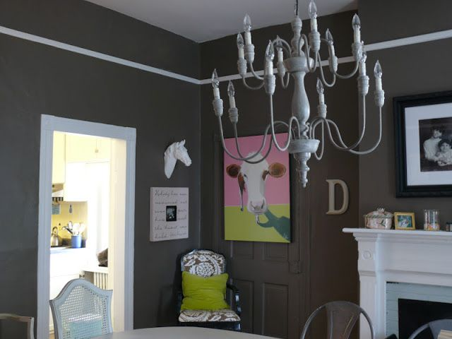 Makeover Painting The Dining Room Part I W Tutorial Living Room Paint