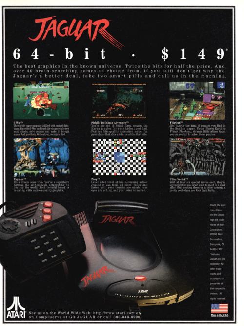 Atari Jaguar Retro Video Games
