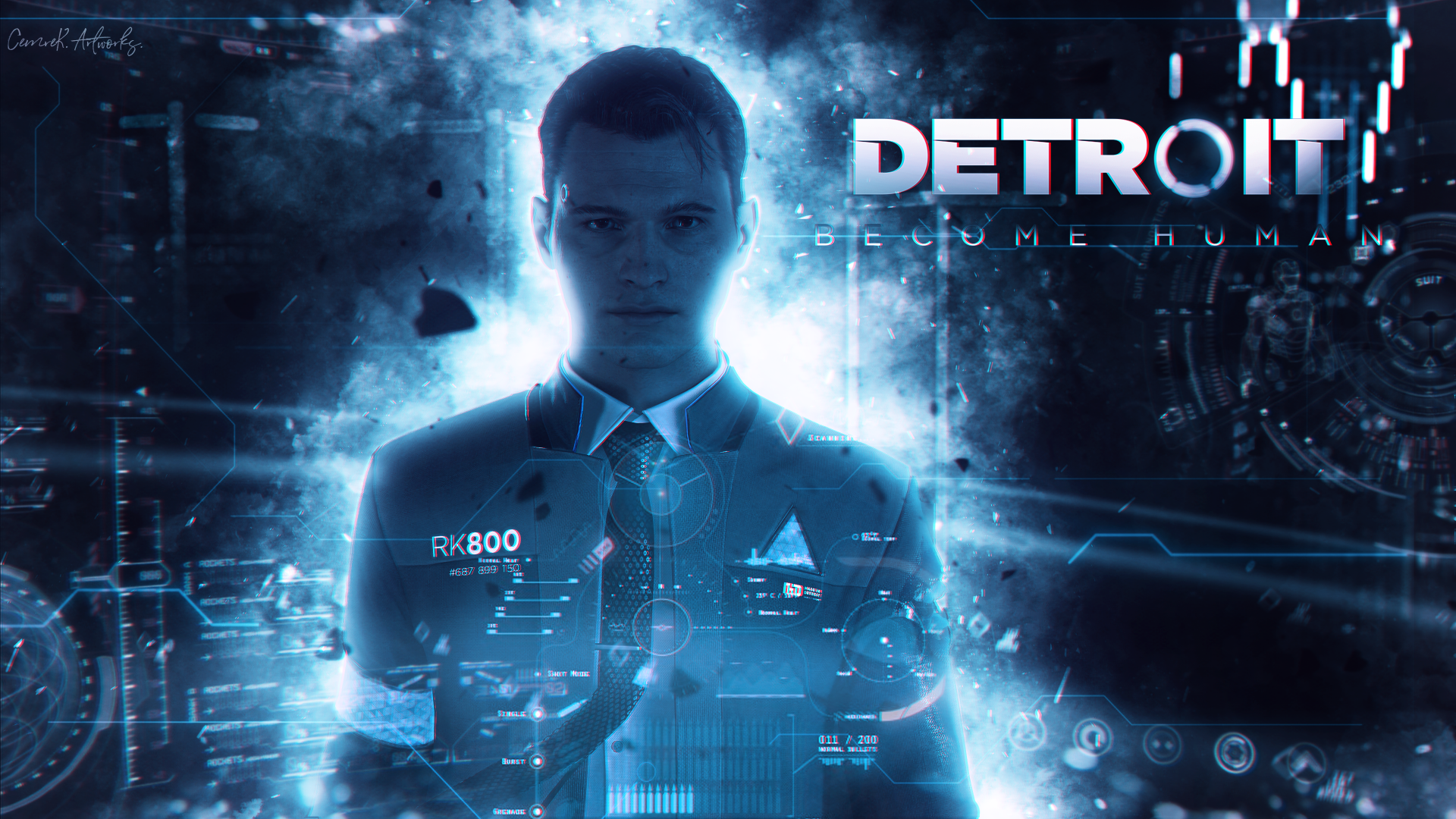 Wallpaper Detroit Become Human Poster 4k Games 18937