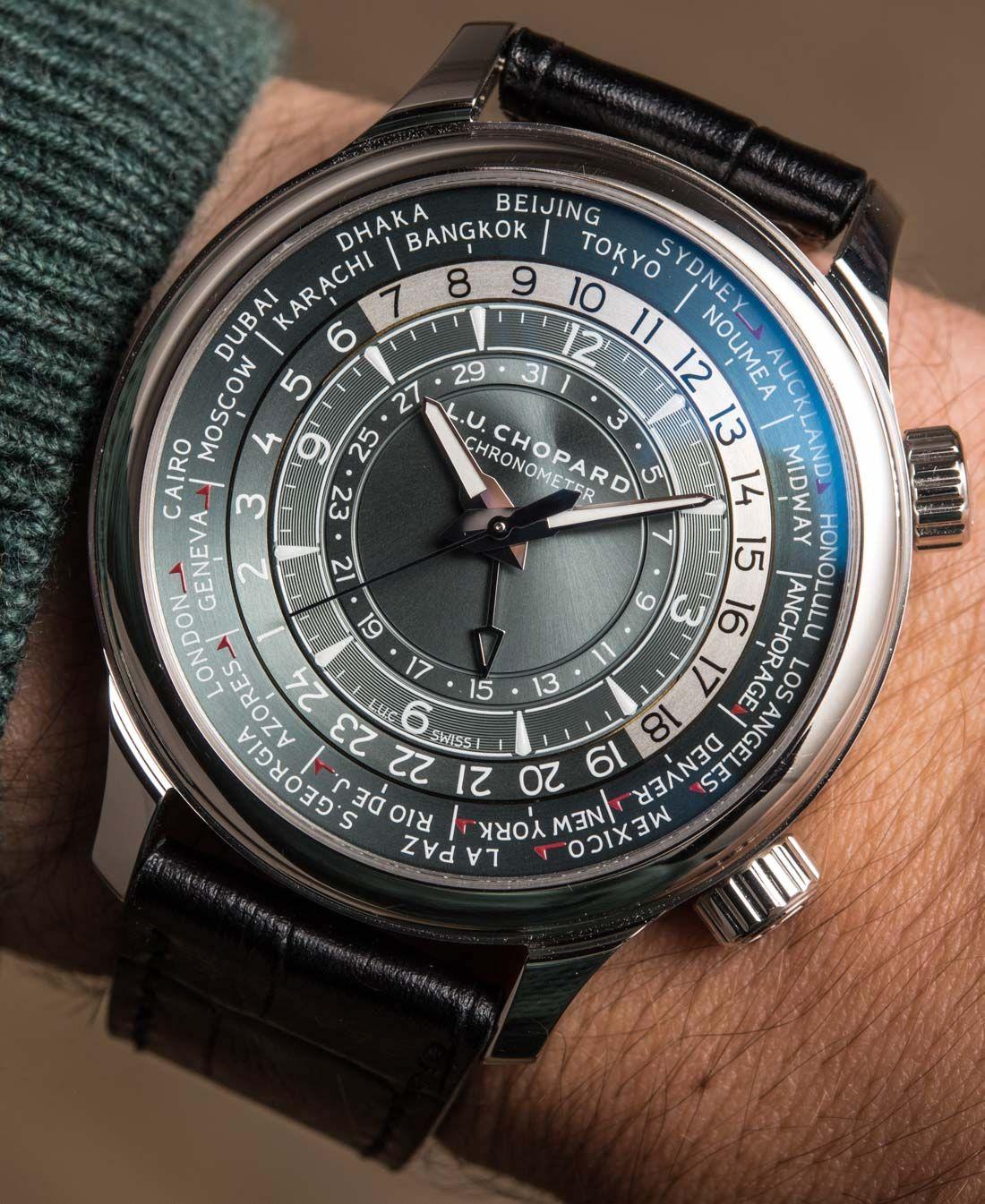 959da352a60 Chopard L.U.C Time Traveler One World Time Watch Hands-On Hands-On ...