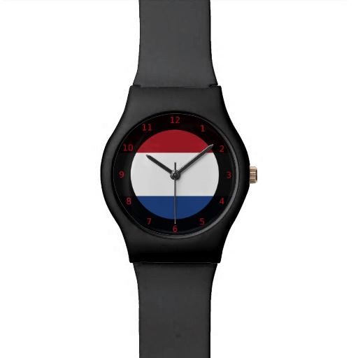 Dutch flag Watch