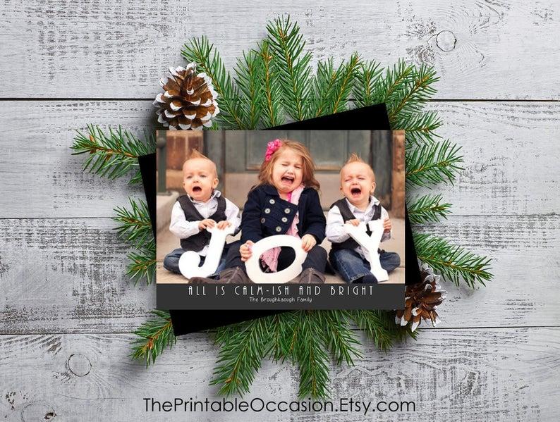 Editable Funny Christmas Card Templates Funny Christmas Photo Cards Funny Christmas Cards With Photo Christmas Photo Card Instant Download In 2020 Funny Christmas Photos Christmas Card Template Funny Christmas Cards