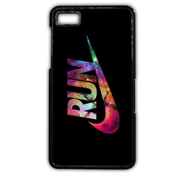 Nike Run Galaxy Nebula Run Blackberry Phonecase For Blackberry Q10 Blackberry Z10
