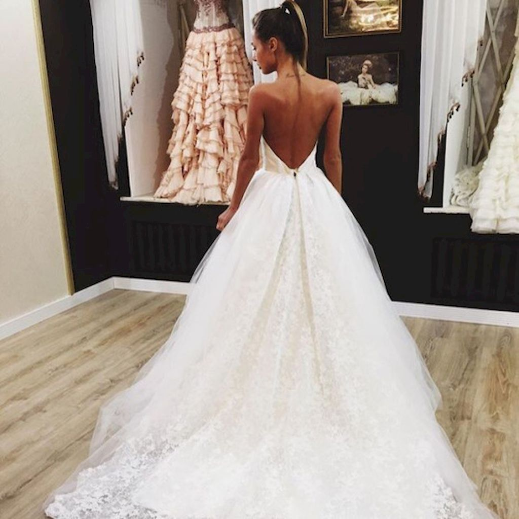 gorgeous backless wedding dresses design ideas pinterest