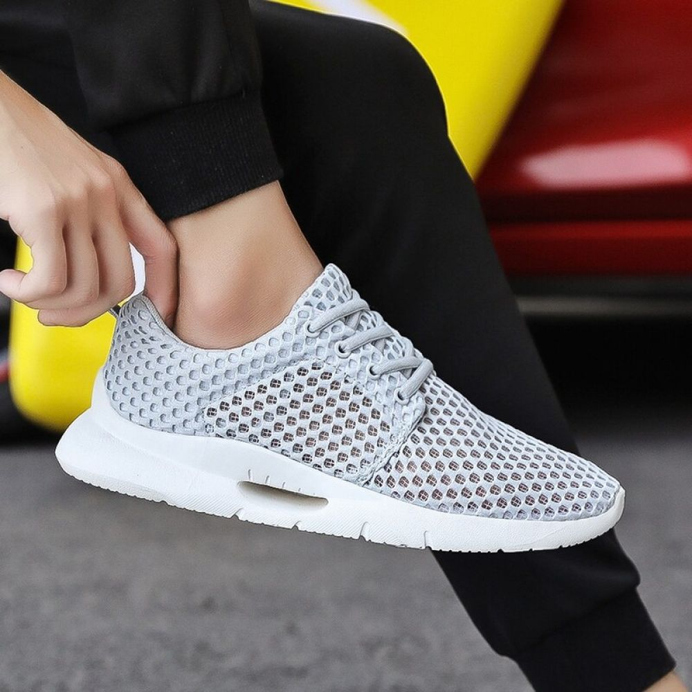 MAISMODA Mens Casual Shoes Breathable Male Mesh Shoes Classic Tenis Masculino Shoes Zapatos Hombre Sapatos Sneakers YL441