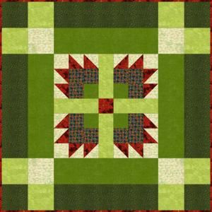 """Easy Patterns for a Coordinated Wallhanging, Table Runner and Placemats: Sew the 30"""" Wallhanging First"""