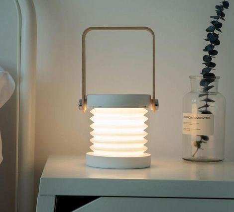 Desk Lamp Reading Light Portable Foldable LED for Kid Home Office USB Recharg~DE