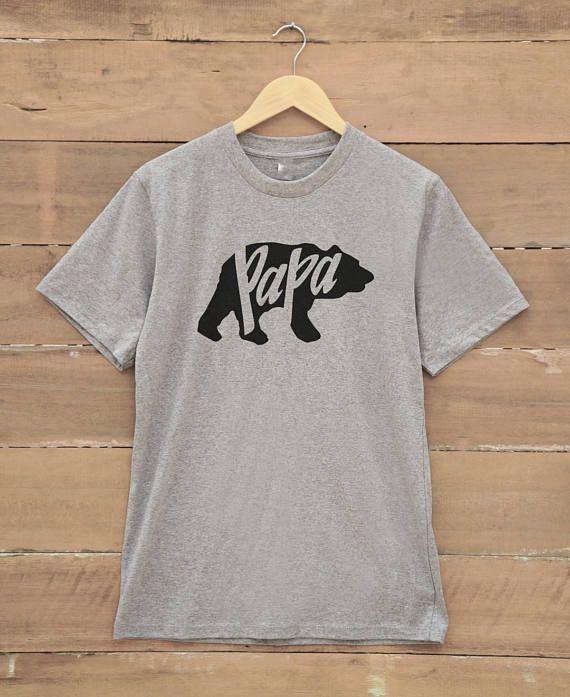 5a017d90 Papa bear t-shirt men teen shirts gift present ideas tshirts t shirts shirt  with quote christmas tees family shirt daddy shirt papa gifts papa shirts