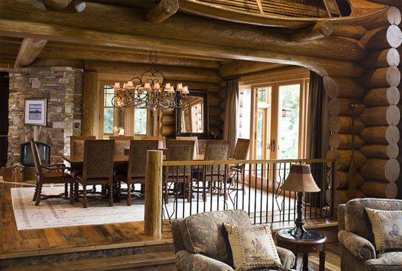 Country House Design Log Home Living Log Homes