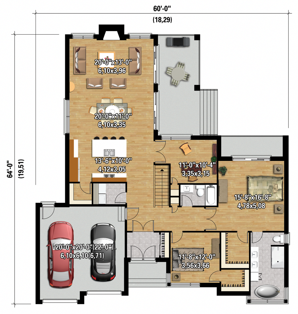 For The Very Best In Contemporary Home Decor Take A Look At These Basics There Are A Lot Of Misconceptions House Plans One Story Best House Plans House Plans