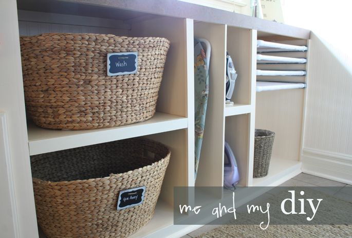 Pretty Laundry Baskets Cool Laundry Room Makeover  Laundry Rooms Laundry And Organizations Review