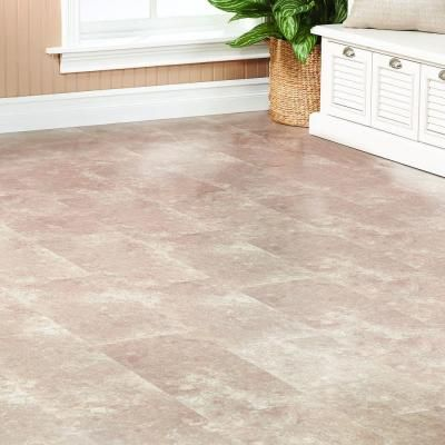 Home Decorators Collection Travertine Tile Grey 8 Mm Thick X 11 13/21 In.  Wide X 47 5/8 In. Length Laminate Flooring (26.44 Sq. Ft.