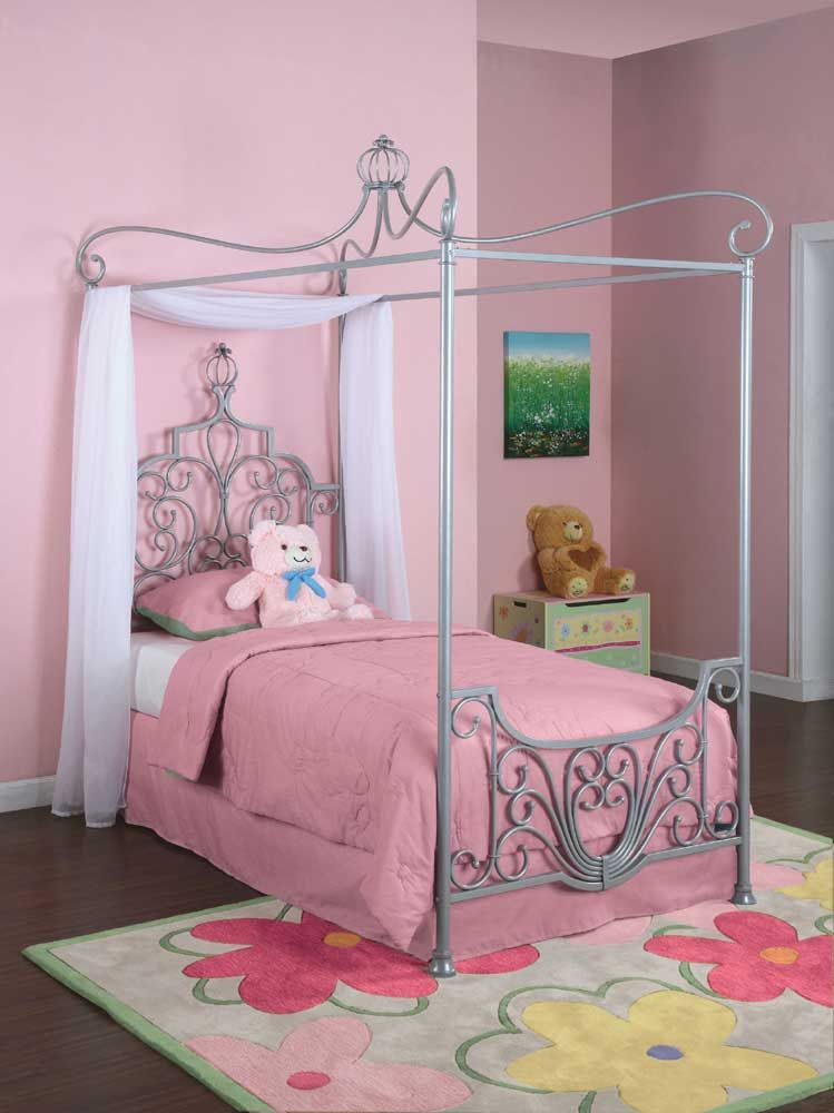 Youth Beds And Bunks Twin Canopy Bed By Powell If Baby H Is A