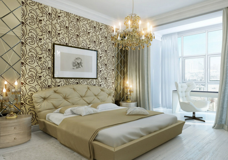 Texture Paint Designs Decorate Bedroom Walls With Creative