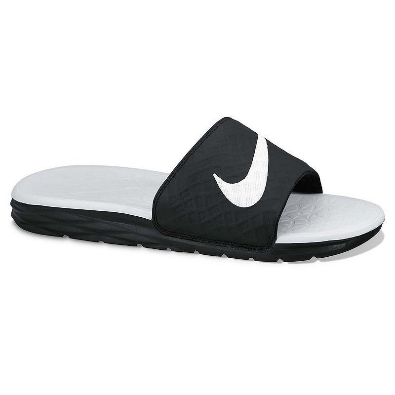 Nike Benassi Women S Solarsoft Slide Sandals Nike Benassi Nike Shoes Size Chart Slide Sandals