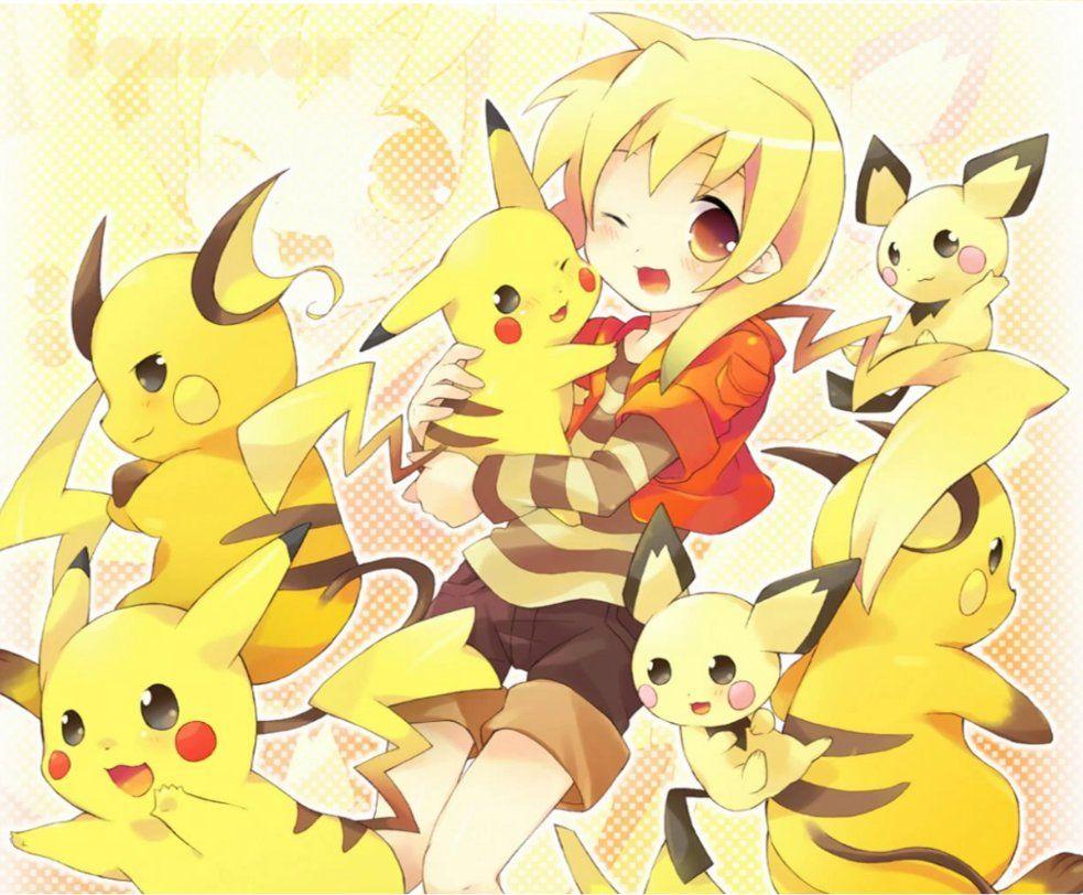 pika girl Google Search Pokemon gijinka, Pokemon, Anime