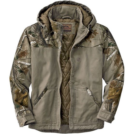 528bec3165ea3 Canvas Cross Trail Realtree Camo Workwear Jacket at Legendary Whitetails