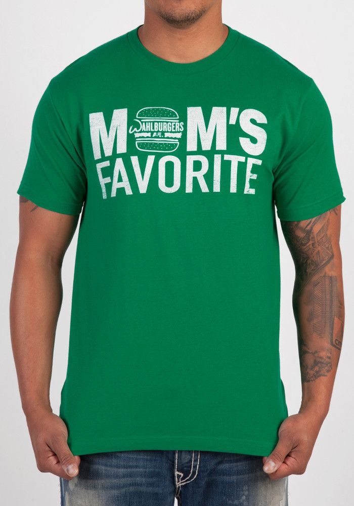 e16a8a0d WAHLBURGERS Mom's Favorite T-Shirt | Wicked Good Gifts! | Shirts, T ...