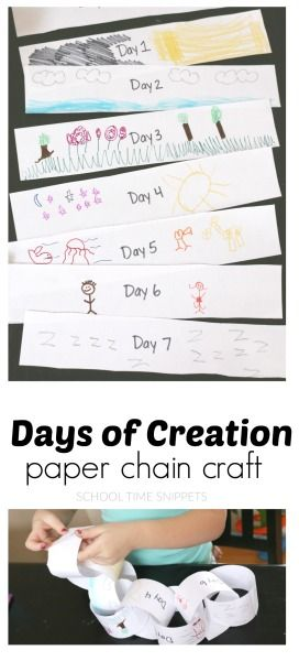 Days of Creation Paper Chain Craft | Tips for Parents | Creation