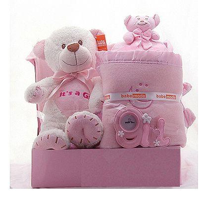 Baby Gift Basket for Girls