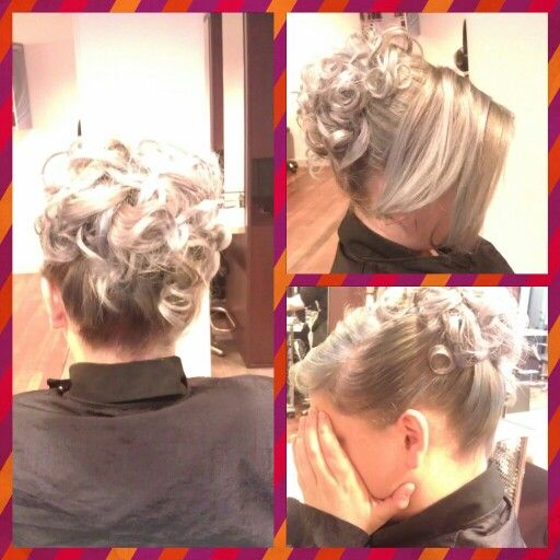 Hair up fit for a wedding