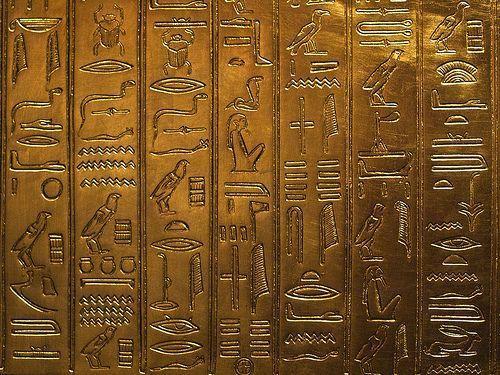 Egyptian Hieroglyphics Wallpaper