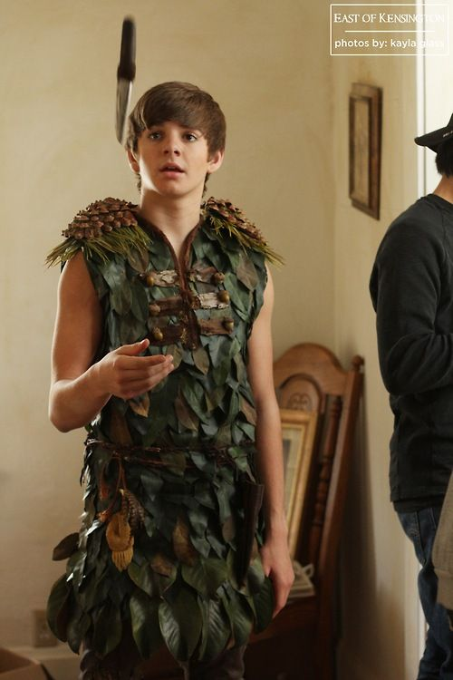 PETER PAN PETER RAGAZZI COSTUME VESTITO NEVERLAND ELFO BOOK WEEK
