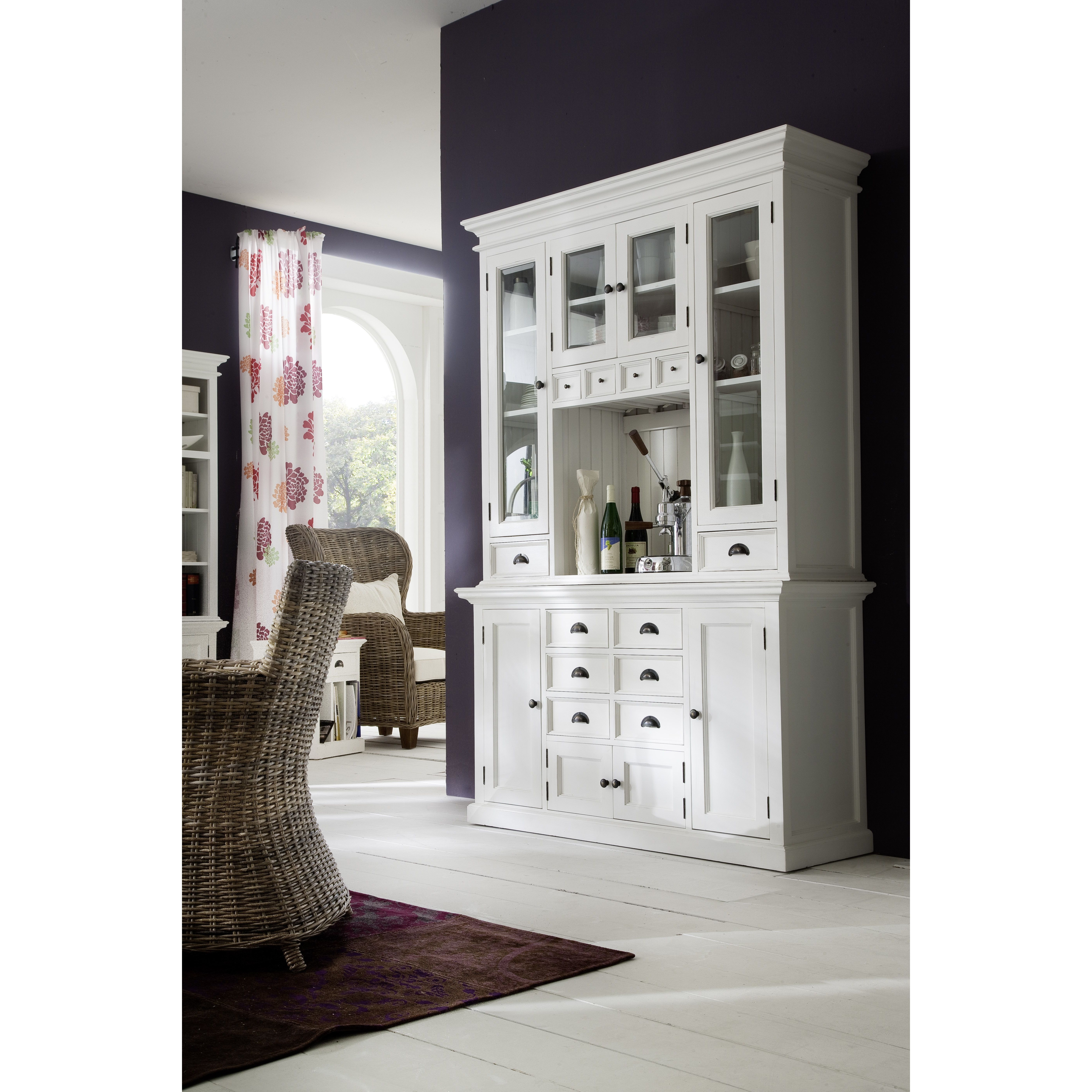 kitchen hutch china room ideas case furniture with tips dining display cabinet classic ikea curio white cabinets glass server storage dinin wood lighted interior